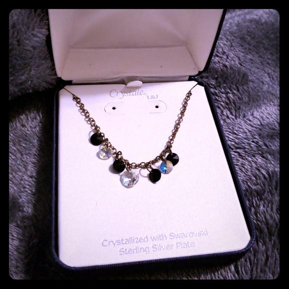 Swarovski Jewelry - Swarovski Sterling Silver Plated necklace NWT